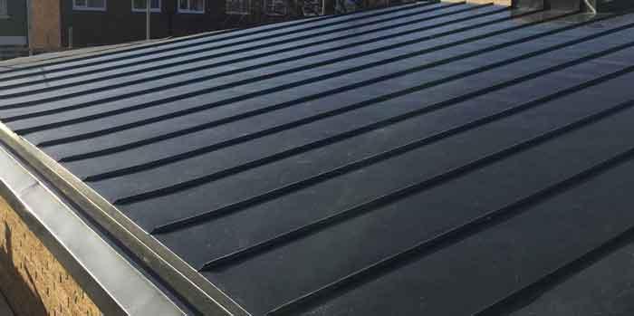 Rheinzink Roofing, Graphite Grey