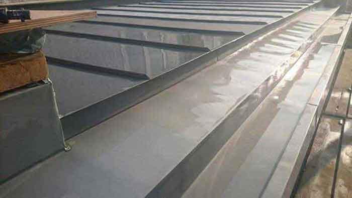 Quartz Zinc (VM Zinc) Roofing