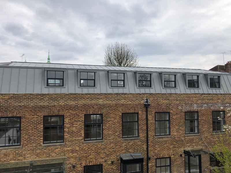 Standing Seam Zinc Roof